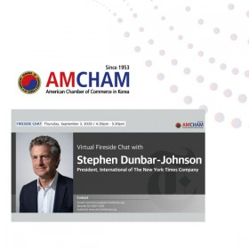 [Webinar] Fireside Chat with Stephen Dunbar-Johnson, President, International of The New York Times Company